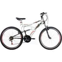 Bicicleta Track Bikes Boxxer C/ Dupla Suspensão - Aro 26 - Unissex