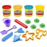 Play-Doh Mini Balde Picnic - Hasbro - Praia 23414