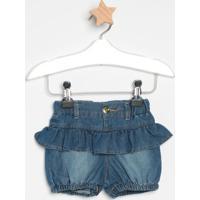 Short Jeans Com Babadosazullook Jeanslook Jeans