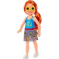 Barbie Boneca Com Camiseta Estampa Just Be You - Mattel