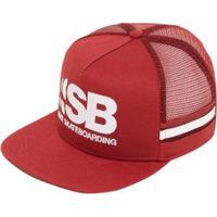 35f95fc8e57a9 ... Boné Nike Aba Reta Sb Cut Trucker Unissex - Unissex-Vermelho