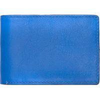 Carteira Masculina Horizontal Floater - Azul