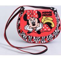 Kit Bolsa Infantil Estampa Minnie Disney