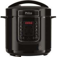 Panela Elétrica De Pressão Philco Ppp01P Digital, 6L, 1000W, Preto 110V