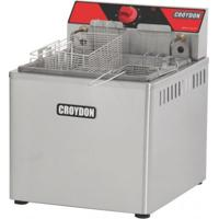 Fritadeira Elétrica De Mesa Fam-5 Croydon 23L Óleo/2L Água 2 Cestos 220V 5000W