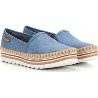 Sapatilha Dakota Alpargata Detalhe Corda - Feminino-Jeans