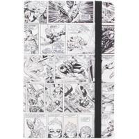 Caderno De Anotação Histórias Em Quadrinhos Preto E Branco - Zona Criativa