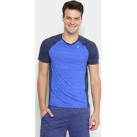 Camiseta Asics Color Ss Masculina - Masculino-Azul+Marinho