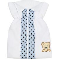 Porta Bebê Padroeira Baby Mimos Azul