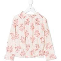 Bonpoint Blusa Com Estampa Floral - Neutro