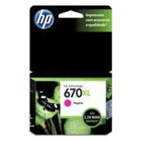 Cartucho Hp 670Xl 8Ml Magenta Original Cz119Ab