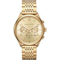 Relógio Michael Kors Feminino Merrick Dourado Mk8638/1Dn Mk8638/1Dn