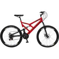 Bicicleta Colli Fulls Gps Freios A Disco Aro 26 Dupla Susp. 36 Raios 21 Marchas - 220.13D - Unissex