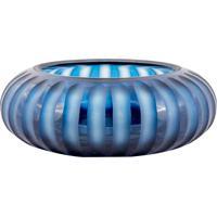 Vaso De Vidro Decorativo Oval Eufrates - Linha Marina