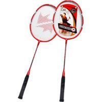Raquete Badminton Glassfiber Ahead Sports Winmax Vermelho