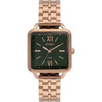 Relógio Euro Boyfriend Feminino - Feminino-Rosa