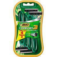 Aparelho De Barbear Bic Comfort 3 Sensitive Leve 4 Pague 3