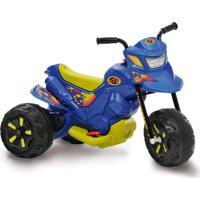 Moto Xt3 Bandeirante Azul Elétrica 6V Multicolorido