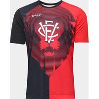 Camisa Vitória Aquecimento Torcedor Topper Masculina - Masculino