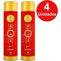 Zap Kit 4 Escovas Progressivas All Time Shampoo 1L E Tratamento Capilar 1L