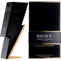 Bad Boy Carolina Herrera - Perfume Masculino - Eau De Toilette - 100Ml - Masculino