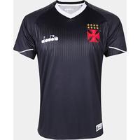 Netshoes  Camisa De Goleiro Vasco Iii 2018 S N° Torcedor Diadora Masculina  - Masculino 1c35c18f18f06