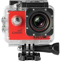 Câmera Sj4000 Wi-Fi Vermelho