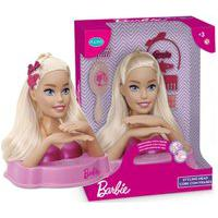 Barbie Styling Head Extra Com Frases - Pupee