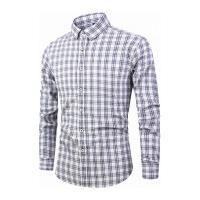 Camisa Xadrez Lexington Masculina - Branca