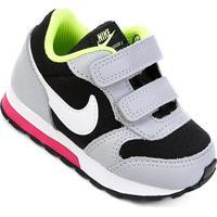 Tênis Infantil Nike Mid Runner 2 - Masculino-Preto+Gelo