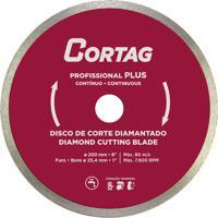 Disco Corte Piso Diamantado Cortag, 200 Mm