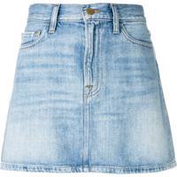 Frame Saia Jeans 'Le Mini' - Azul