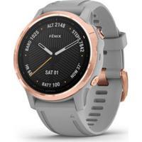 Smartwatch Gps Multiesportivo Premium Garmin Monitoramento Cardíaco Fênix 6 - Unissex