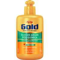 Creme De Pentear Niely Gold Óleo De Argan Pós Química Com 280G