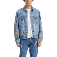 Jaqueta Jeans Levis Vintage Fit Stranger Things - Xs