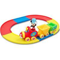 Peças E Encaixe E Mini Veículo - Disney - Trenzinho Do Mickey Mouse - Minimi - New Toys