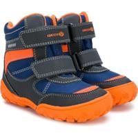 Geox Kids Bota Com Velcro - Amarelo