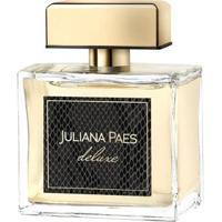 Perfume Feminino Deluxe Juliana Paes Eau De Toilette 100Ml - Feminino-Incolor