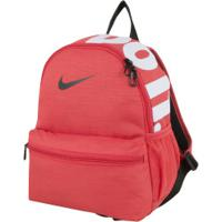 Mochila Nike Brasilia Jdi Mini - Infantil - 11 Litros - Vermelho/Preto