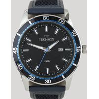 Relógio Analógico Technos Masculino - 2115Mmz0A Azul - Único