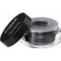 Sombra Pigmento Divamor 1G - Preto Com Brilho - Unissex-Incolor
