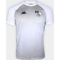 Camisa Botafogo Waves Supporter Kappa Masculina - Masculino-Branco