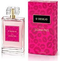 Perfume Feminino O Desejo Juliana Paes 100Ml - Feminino-Incolor