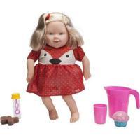 Boneca Holly Lanchando No Parque Com Acessórios - Unissex-Incolor