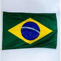 Bandeira Do Brasil 90X128Cm - Unissex