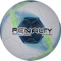 Bola De Futsal Penalty Player Bc C/C Viii - Branco/Azul