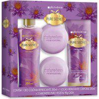 Kit Trio Phyto Splash Pure Secret 200 Ml + Phyto Lotion 200 Ml + 2 X Phyto Soap 90 G Único