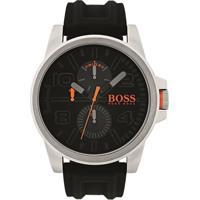 Relógio Hugo Boss Masculino Borracha Preta - 1550006