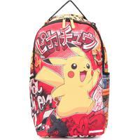 Sprayground Kid Mochila Pokémon Com Estampa - Vermelho