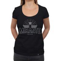 Mirante Clássico Traçado - Camiseta Clássica Feminina